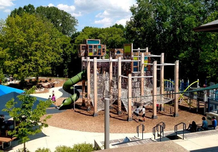 French Park Play Area - Plymouth Minnesota